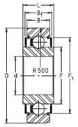 Подшипник LR201-RRU