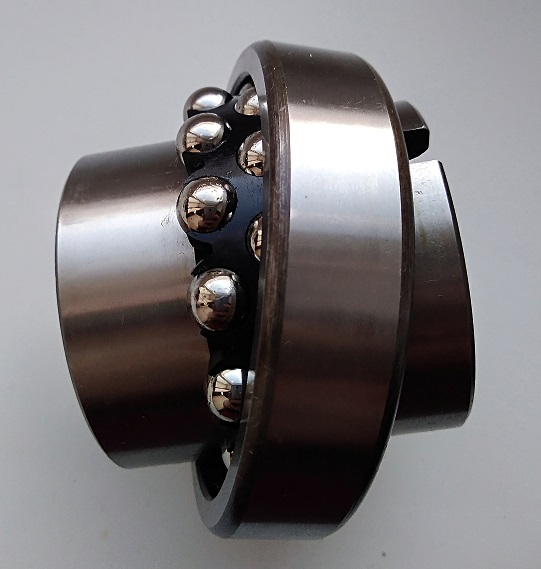 Фото двухрядного подшипника с широким кольцом