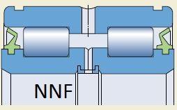 Подшипник NNF5010 или SL045010 чертеж